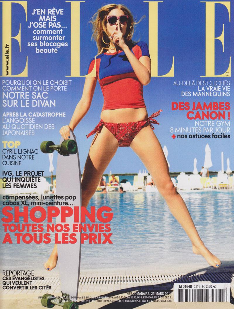 Elle France - March 2011 - JadeTribe