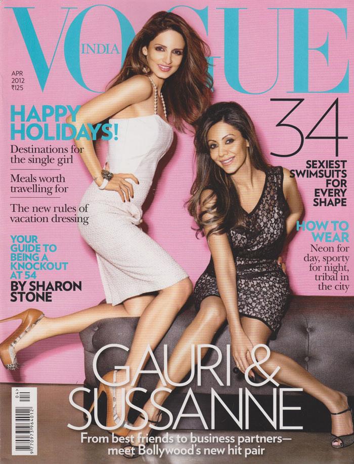 Vogue India April 2012