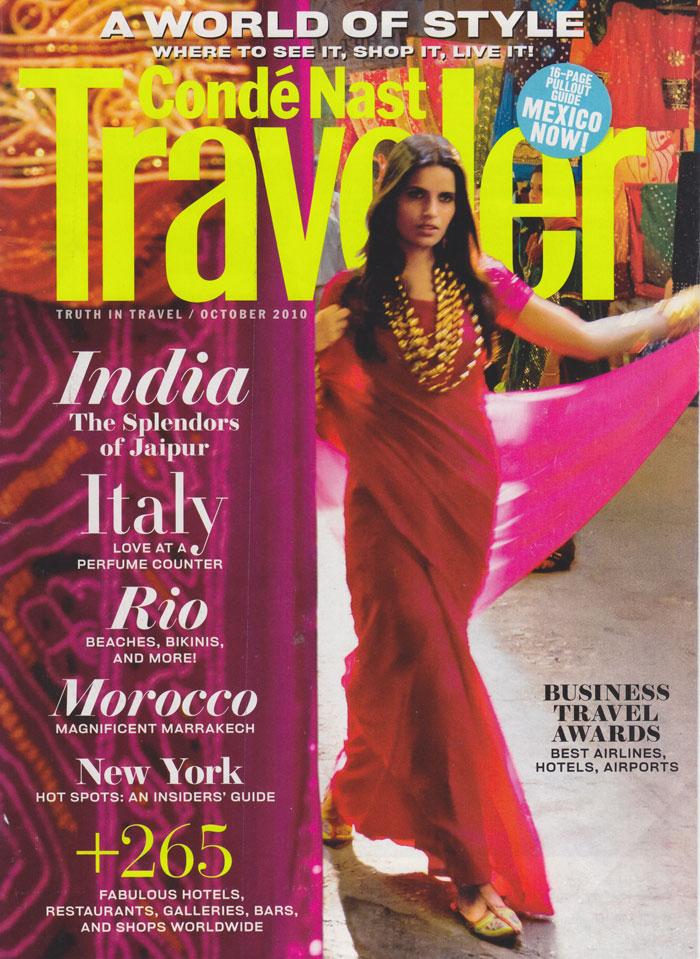 Conde Nast Traveler - October 2010