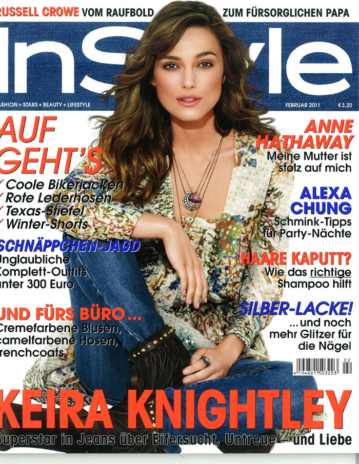 InStyle Germany - Feb 2011