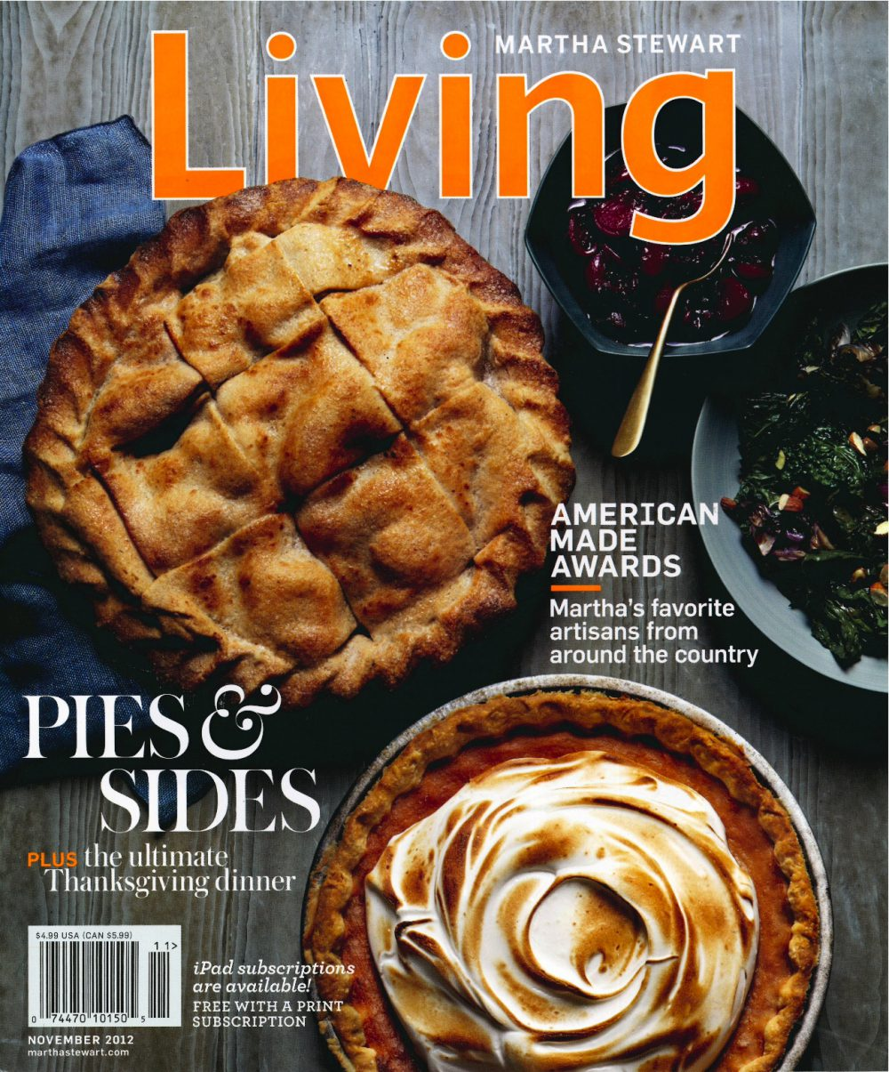 Martha Stewart Living November 2012 Cover - JADEtribe / jade tribe