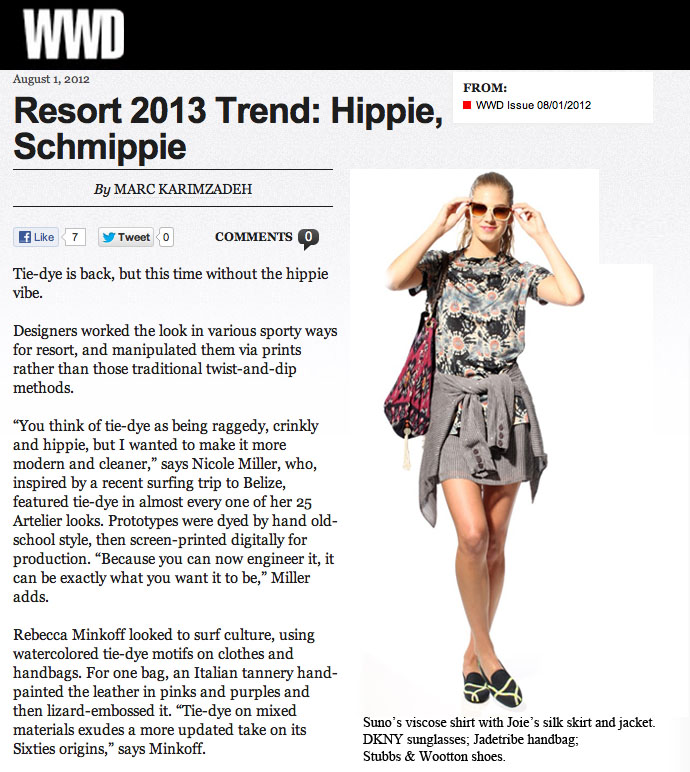 Indo Leather Shoulder Bag WWD August 2012 - JADEtribe / jade tribe
