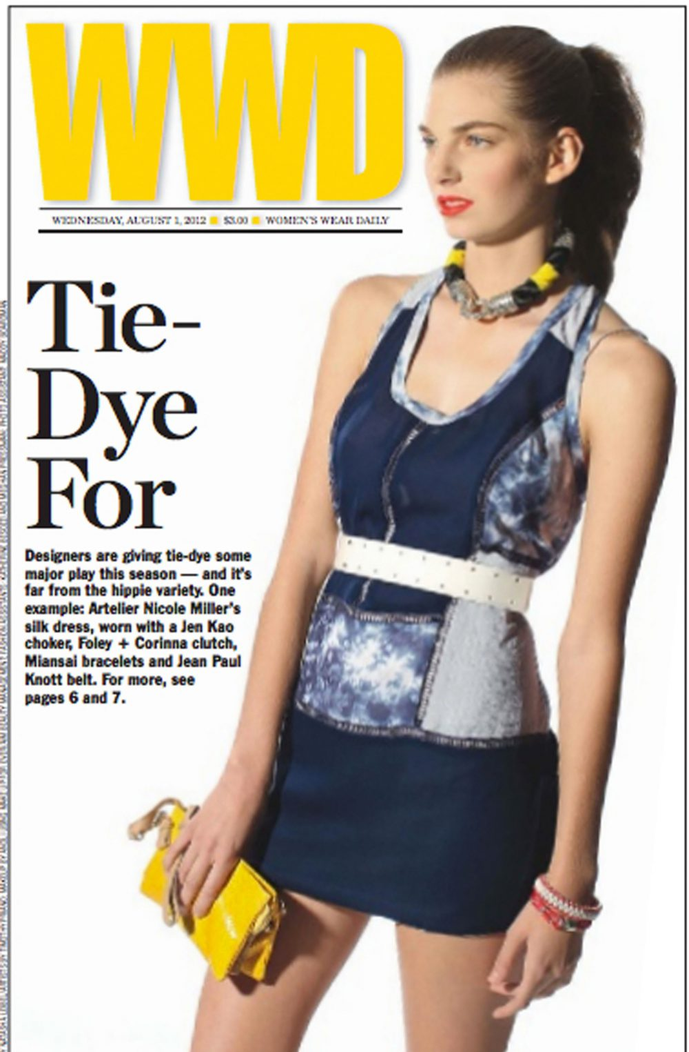 WWD Cover JADEtribe 1 Aug 2012 - JADEtribe / jade tribe